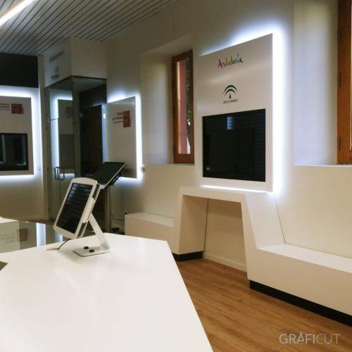Mobiliario para exposiciones